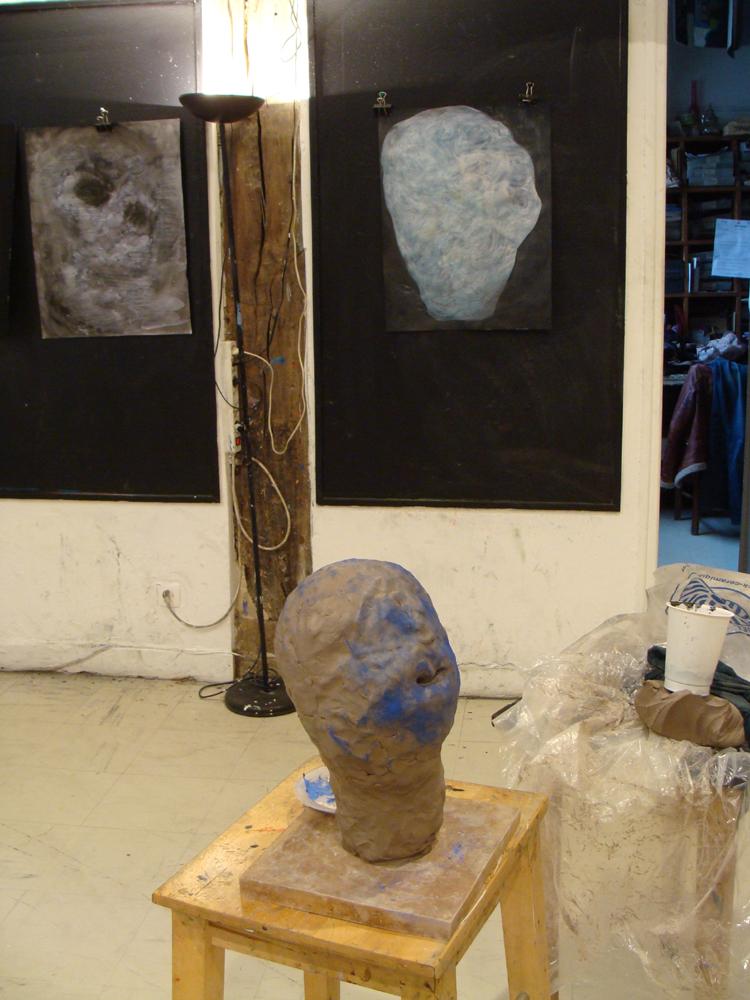 vue d'atelier, 2013